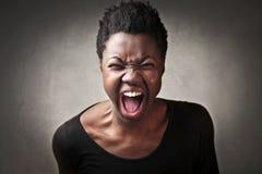 Гнев Стоковое фото RF
