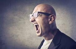 гнев Стоковое Изображение RF