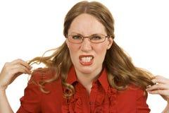 гнев Стоковая Фотография