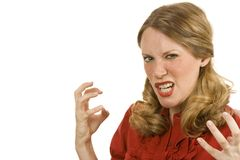 гнев Стоковая Фотография RF