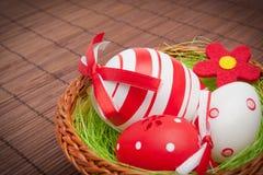 гнездй пасхального яйца Стоковое фото RF