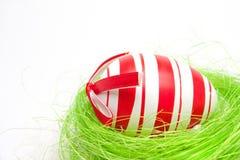 гнездй пасхального яйца Стоковые Фото