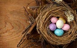 гнездй пасхи конфеты Стоковая Фотография RF