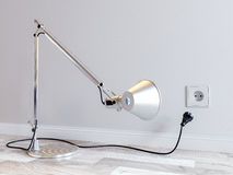гнездо светильника стола Стоковое Изображение RF