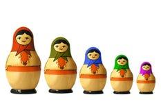 гнездят куклы, котор Стоковые Фото