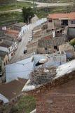 Гнездо аиста с цыпленоками Стоковая Фотография RF