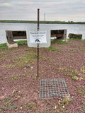 Гнездо защищенное клеткой, луга с ромбовидным рисунком на спине водяной черепахи, NJ, США Стоковые Фото
