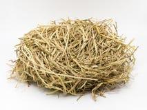 Гнездо сена стоковые фотографии rf