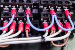 Гнездо электрического провода стоковые изображения