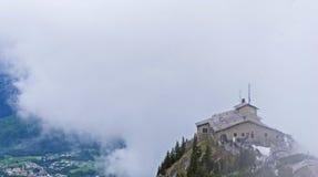 Гнездо ` s орла около Berchtesgaden стоковое фото rf