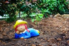 Гном сада, карлик на почве Стоковое Изображение RF