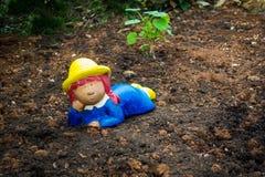 Гном сада, карлик на почве Стоковая Фотография RF