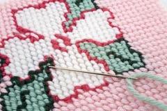 гобелен needlework Стоковое Изображение RF