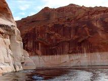 Гобелен утеса Навахо стоковое фото rf