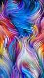 Говорить жидкостного цвета Стоковое Изображение RF