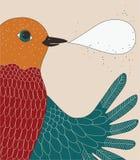 говорить птицы Стоковое Изображение