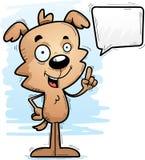 Говорить собаки шаржа мужской иллюстрация штока