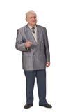 говорить старшия человека Стоковая Фотография RF