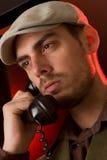 говорить телефона Стоковая Фотография RF