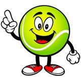 Говорить теннисного мяча иллюстрация штока