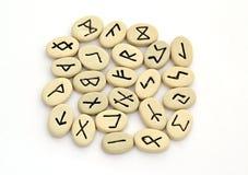 Говорить удачи нордических runes стоковые изображения rf
