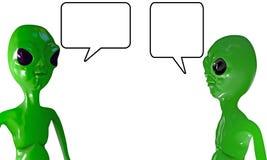 Говорить чужеземцев бесплатная иллюстрация
