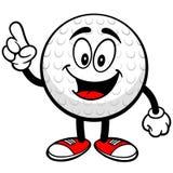 Говорить шара для игры в гольф иллюстрация штока