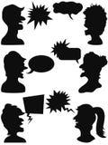 Говорить людей Стоковые Фотографии RF
