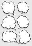 Говоря пузыри Стоковая Фотография RF