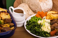 Говядина в ирландском прочном тушёном мясе Стоковое Изображение