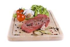 говядина жаря овощи стейка Стоковое Фото