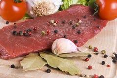 говядина жаря овощи стейка Стоковое фото RF