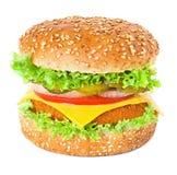 Говядина барбекю предпосылки гамбургера американская Стоковые Фотографии RF