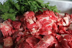 Говядина и мясо Стоковые Изображения RF