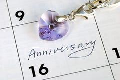 годовщина делает наше вспоминает сегодня вас Стоковое Изображение RF