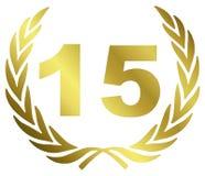 годовщина 10 Стоковое Изображение