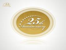 годовщина 25 Стоковые Изображения