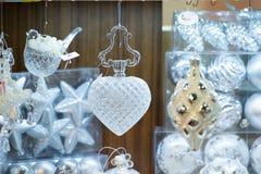 год близких украшений рождества новый поднимающий вверх Стоковая Фотография RF