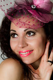 год женщины costume масленицы новый Стоковые Фотографии RF
