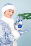 год игрушек девушки costume новый Стоковое Фото