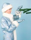 год игрушек девушки costume новый Стоковые Изображения RF