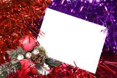 год карточки новый s Стоковое фото RF
