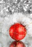 год красного цвета s шарика новый Стоковые Изображения RF