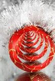 год красного цвета s шарика новый Стоковые Фото