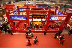 год кролика еды экспозиции chongqing фарфора Стоковое Изображение