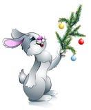 год кролика s ветви новый Стоковое Изображение RF