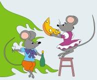 год крысы иллюстрация вектора
