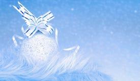 год орнамента рождества новый Стоковая Фотография RF
