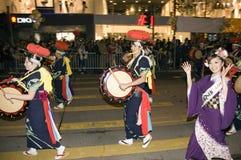 год парада Hong Kong новый Стоковая Фотография RF
