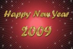 год предпосылки счастливый новый красный Стоковая Фотография